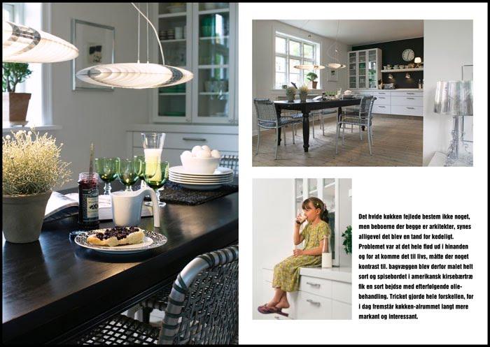 Køkken i sort og hvid - Barslund indret